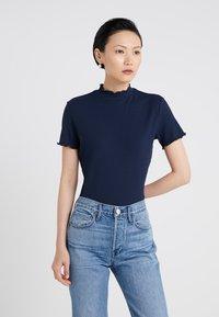 HUGO - DINANA - Print T-shirt - open blue - 0