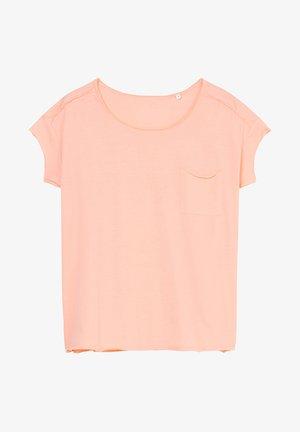 Basic T-shirt - peach bud