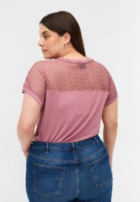 Zizzi - Print T-shirt - wistful mauve - 2
