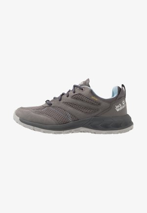 WOODLAND TEXAPORE LOW - Hiking shoes - grey/light blue