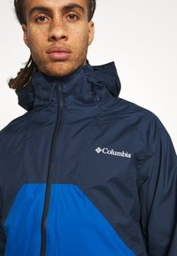 Columbia - RAIN SCAPE JACKET - Kurtka przeciwdeszczowa - collegiate navy/bright indigo - 3