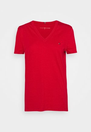 NEW CREW NECK TEE - Basic T-shirt - primary red