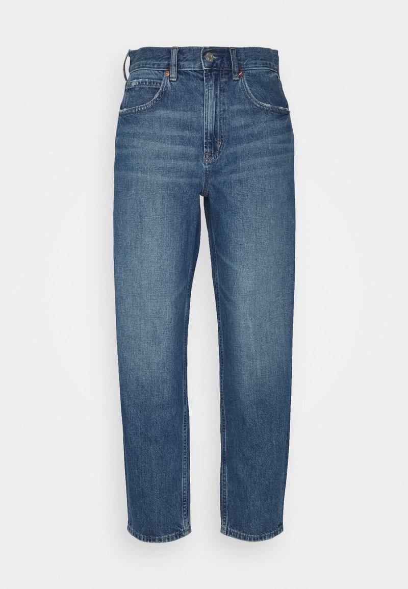 GAP - BARREL BURFORD - Relaxed fit jeans - medium indigo