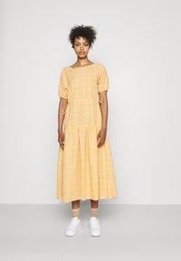 YAS - YASSTURI ANKLE DRESS - Day dress - tan - 0