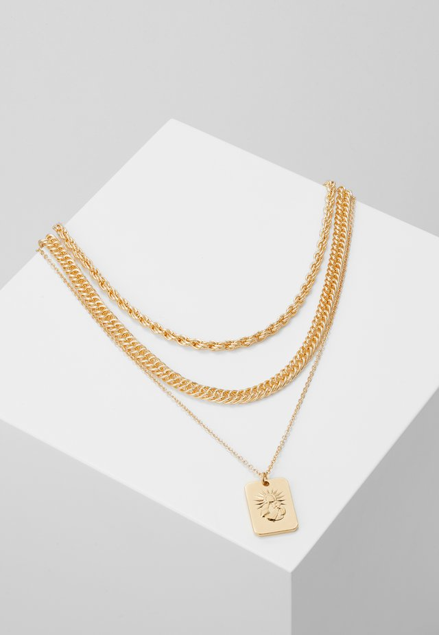 PCMULA COMBI NECKLACE - Collar - gold coloured