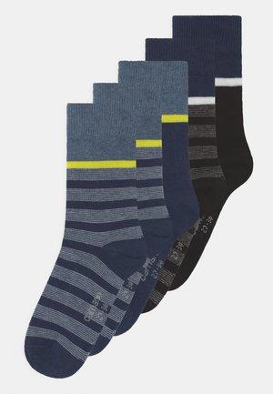 ONLINE CHILDREN 5 PACK - Socks - blue