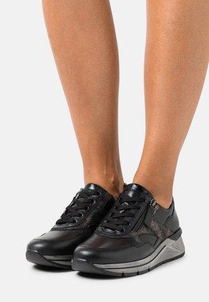 Sneakers laag - schwarz/anthrazit