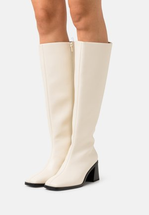 POLLY BOOT VEGAN - Boots - white dusty light