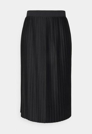 JDYEVA MARIE PLISSE SKIRT - Áčková sukně - black