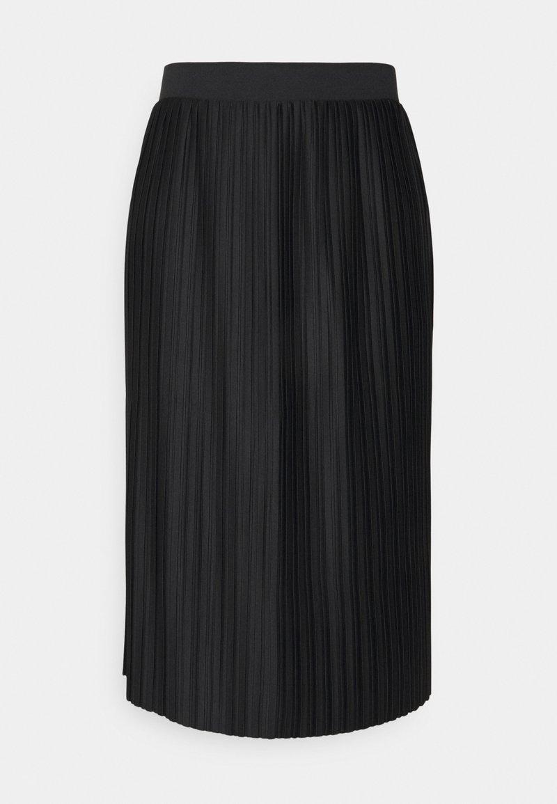 JDY - JDYEVA MARIE PLISSE SKIRT - A-line skirt - black
