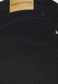Carin Wester - Džíny Straight Fit - black - 5