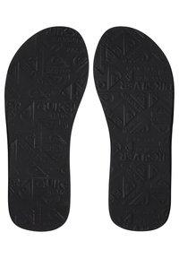 Quiksilver - MOLOKAI LAYBACK - Pool shoes - black/blue/black - 2