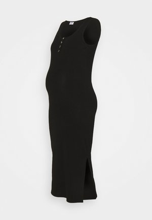 MATERNITY HENLEY MAXI DRESS - Maxikjole - black