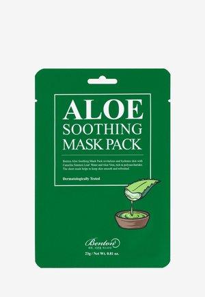ALOE SOOTHING MASK 3 UNITS - Masque visage - -