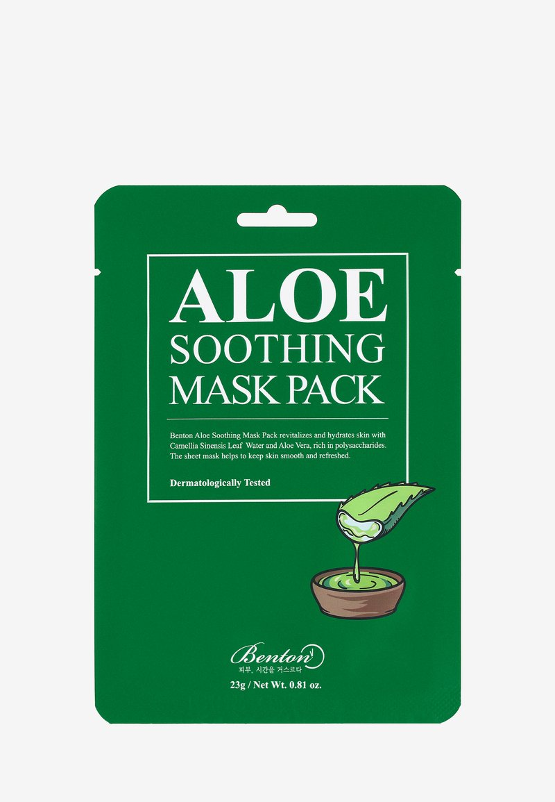 Benton - ALOE SOOTHING MASK 3 UNITS - Face mask - -