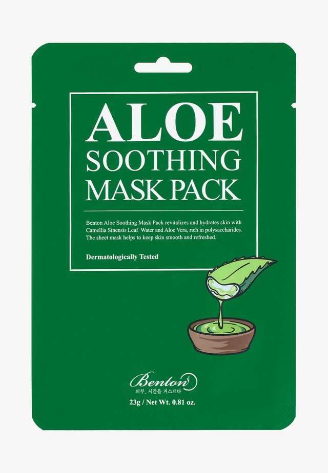 ALOE SOOTHING MASK 3 UNITS - Ansiktsmask - -
