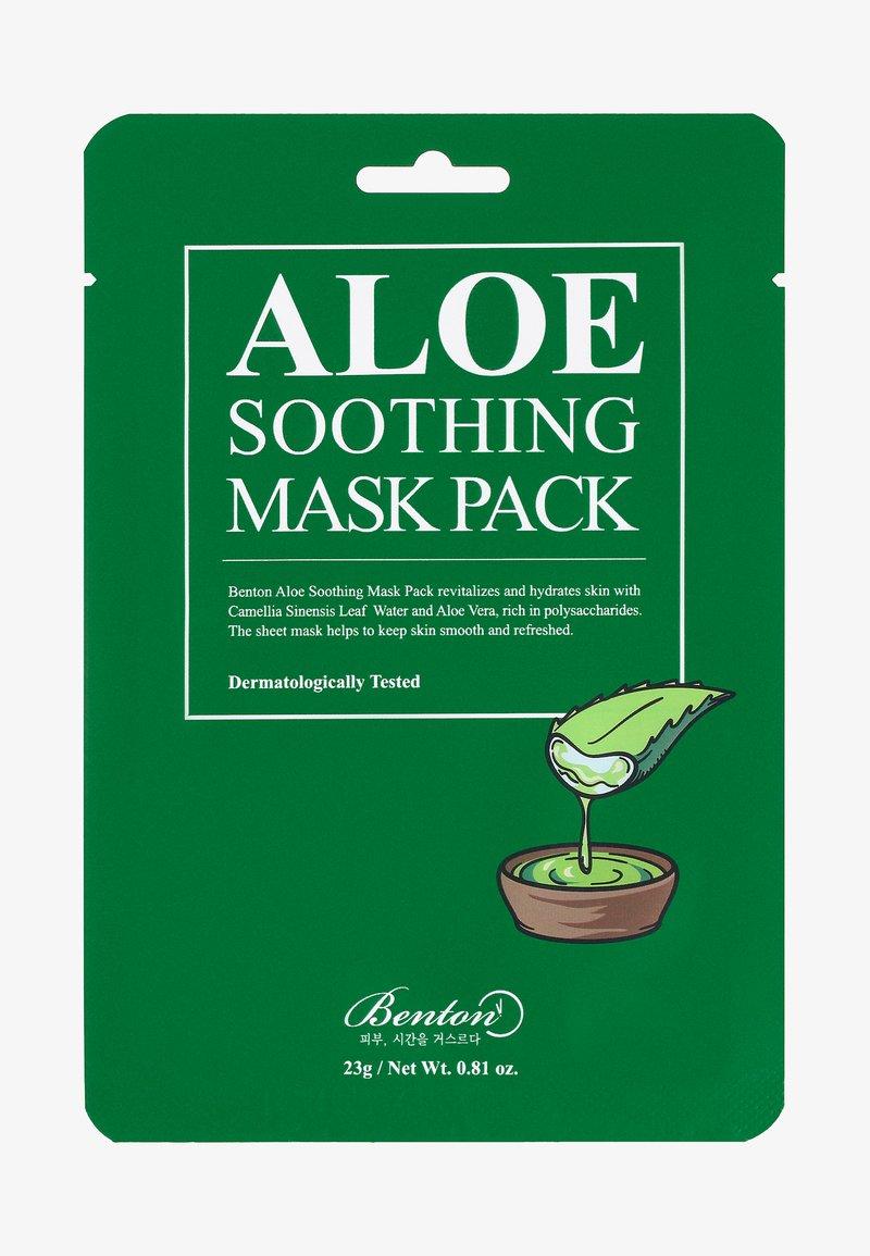 Benton - ALOE SOOTHING MASK 3 UNITS - Gesichtsmaske - -