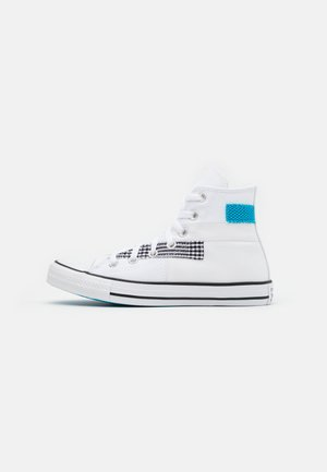 CHUCK TAYLOR ALL STAR - Høye joggesko - white/black/sail blue