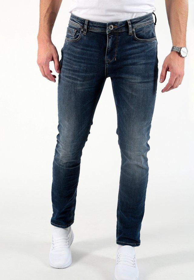 CORNELL - Slim fit jeans - blau
