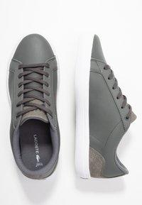 Lacoste - LEROND  - Sneaker low - dark grey/white - 3