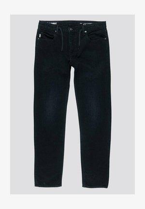 Straight leg jeans - black dark used