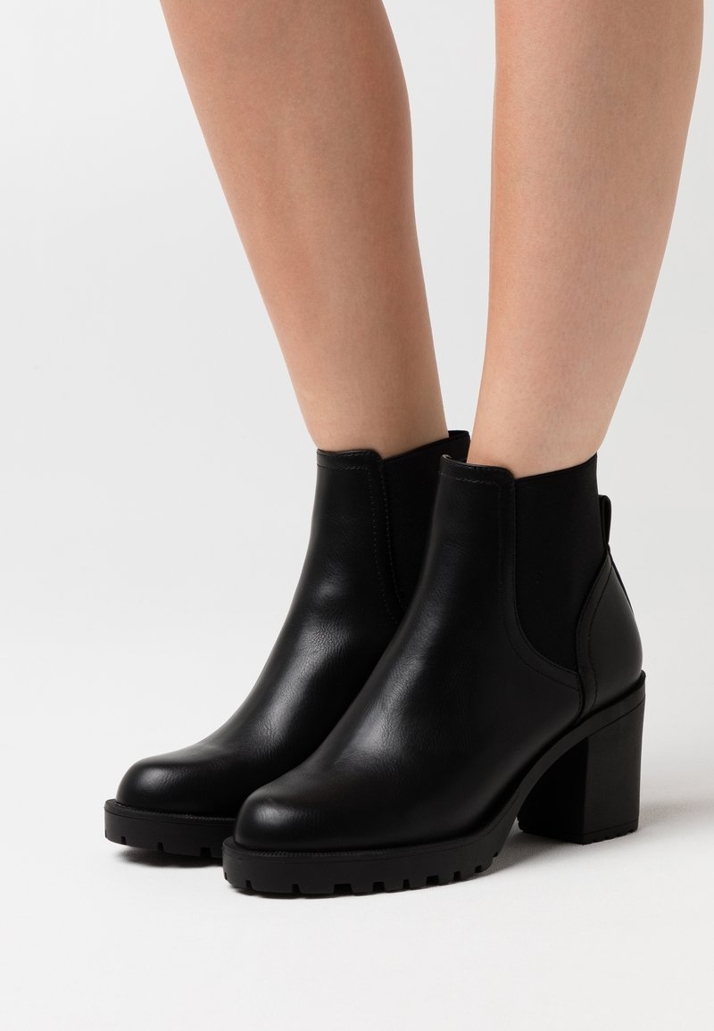 ONLY SHOES - ONLBARBARA BASIC CHELSEA BOOTIE  - Classic ankle boots - black