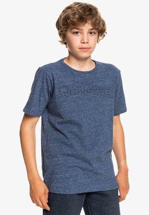 NEW SLANG - T-shirt print - insignia blue heather
