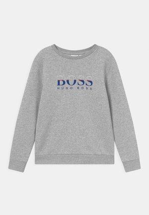 Sweatshirt - chine grey