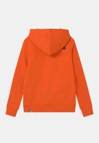 The North Face - BOX HOODIE UNISEX - Sweatshirt - red orange - 1