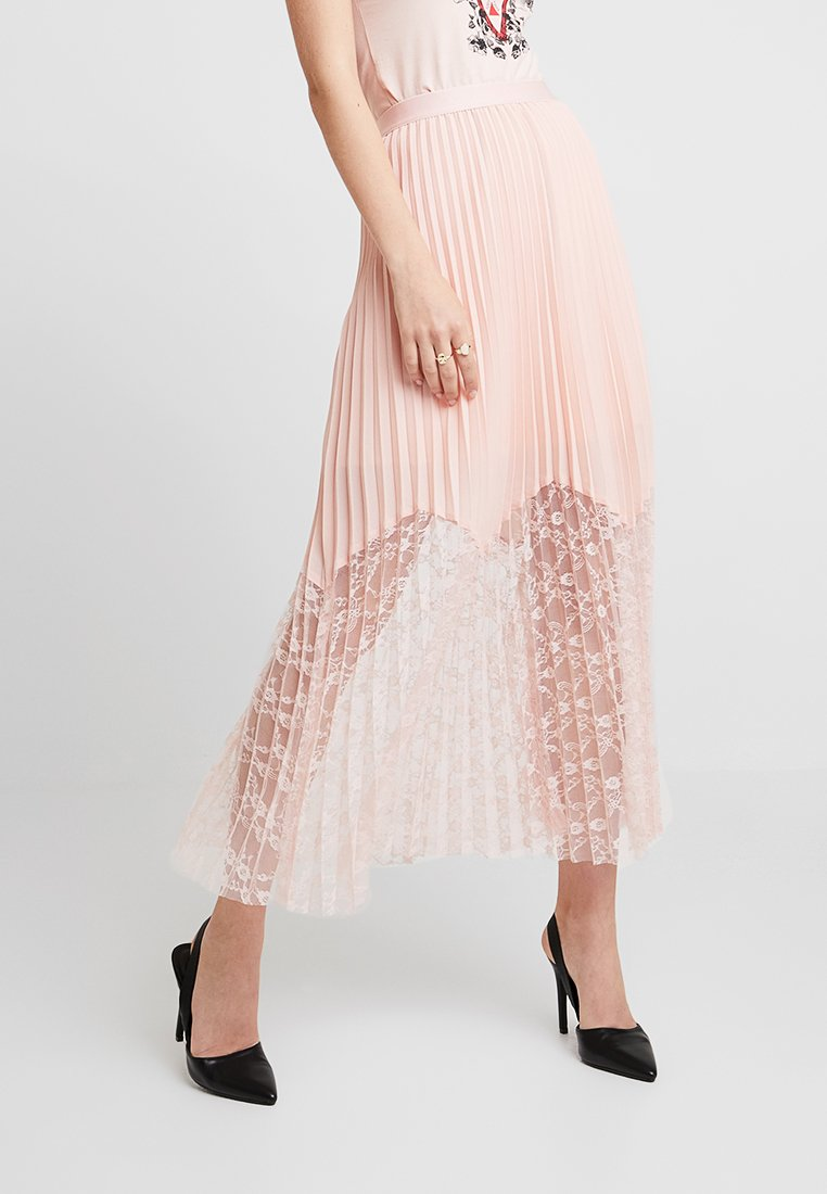 Guess - LINDA SKIRT - Pleated skirt - pale sand