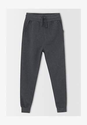 SLIM FIT  - Tracksuit bottoms - anthracite