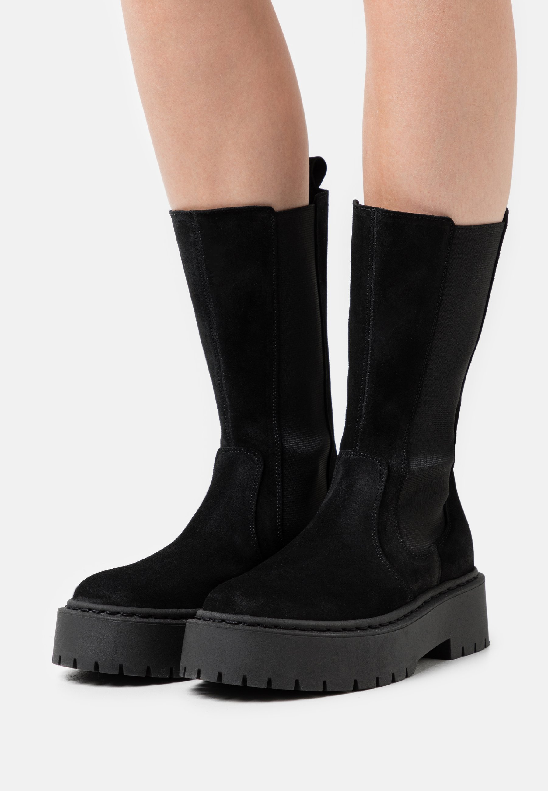 Women VIVIANNE - Platform boots - black