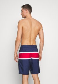 Hollister Co. - RIGID CLASSIC - Plavky - navy/white/red color block - 1