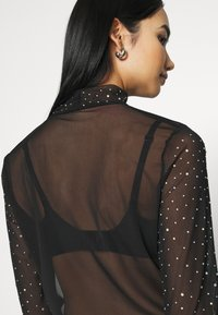 Nly by Nelly - DECORATED - Topper langermet - black - 3