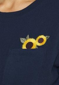 Hollister Co. - Basic T-shirt - navy - 5