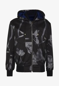 Paul Smith - GENTS HOODED JACKET ALLOVER PRINT - Giacca leggera - black - 4