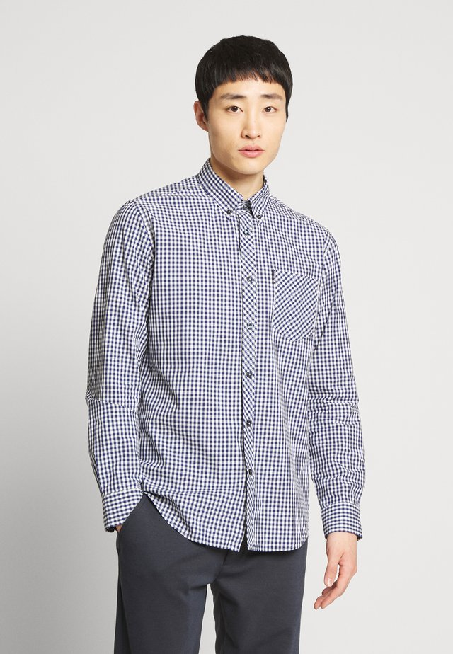 SIGNATURE GINGHAM - Skjorta - dark blue