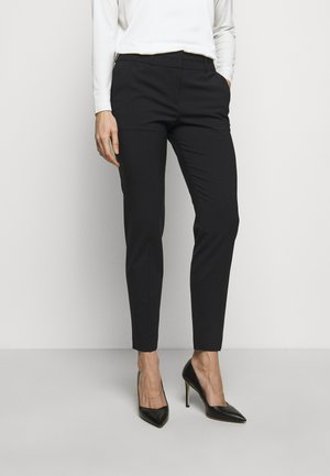 THE SKINNY TROUSERS - Tygbyxor - navy