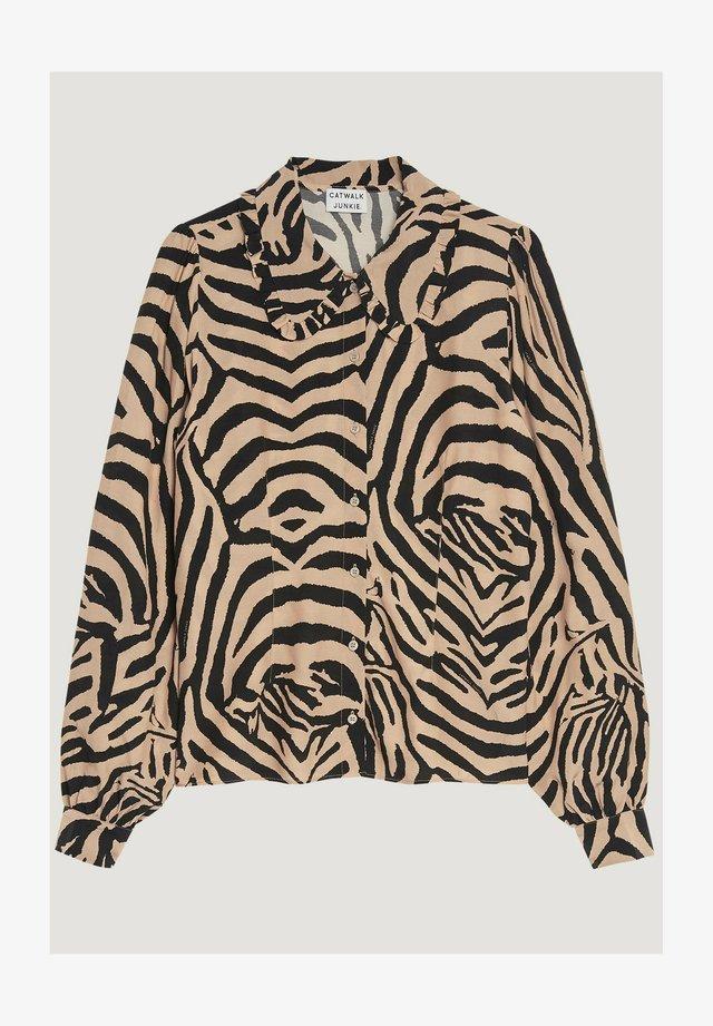 EL TIGRE  - Button-down blouse - cuban sand