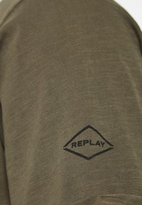 Replay - T-shirt basic - military - 2
