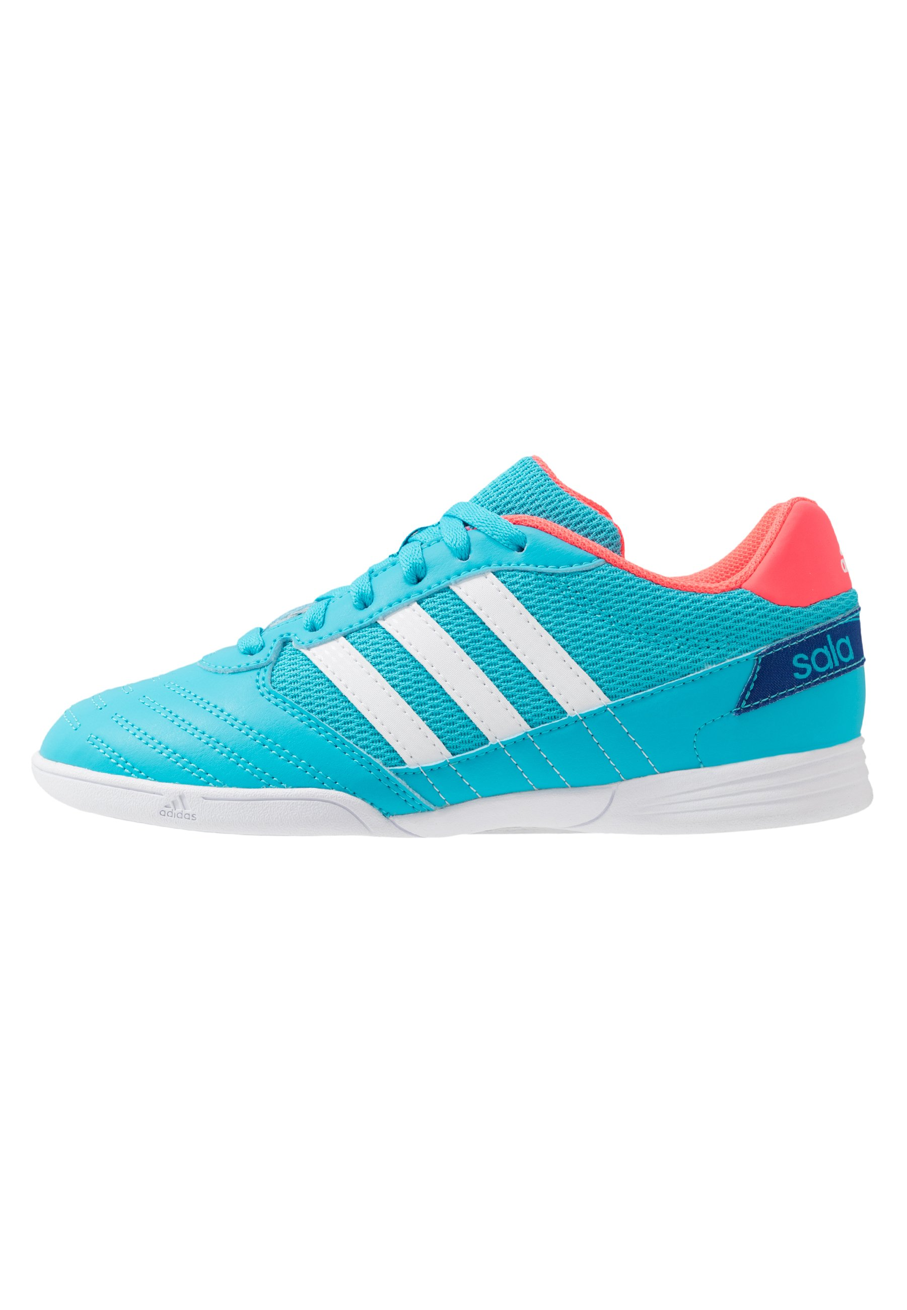 SUPER SALA FOOTBALL SHOES INDOOR Fotbollsskor inomhusskor signal cyansignal pinkroyal blue