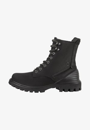 TREDTRAY M HIGH-CUT - Lace-up boots - black