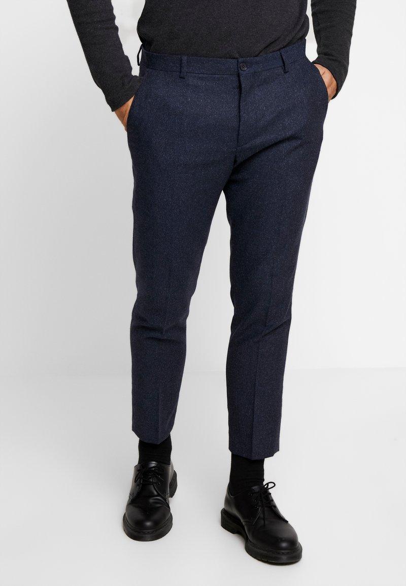 Viggo - ALTA TAPERED - Trousers - dark blue
