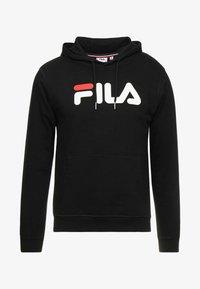 Fila - PURE HOODY - Huppari - black - 3