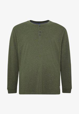 T-shirt à manches longues - oliv
