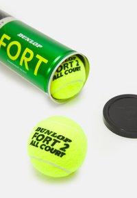 Dunlop - FORT ALL COURT 8 PACK UNISEX - Bollar - gelb - 3