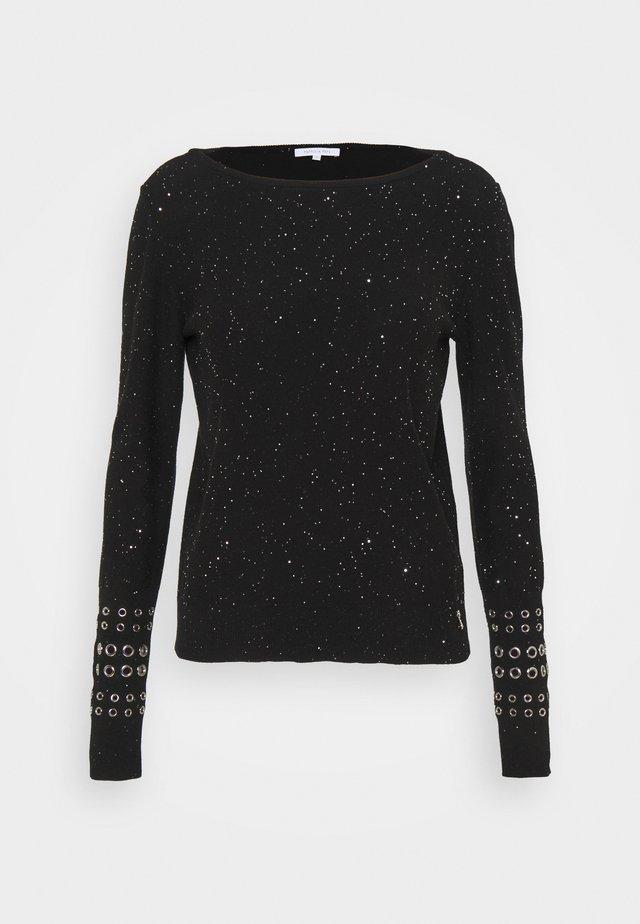 MAGLIA - Sweter - black