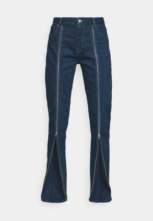 PANTS 5 POCKETS - Jeans relaxed fit - muted wash sovratinto