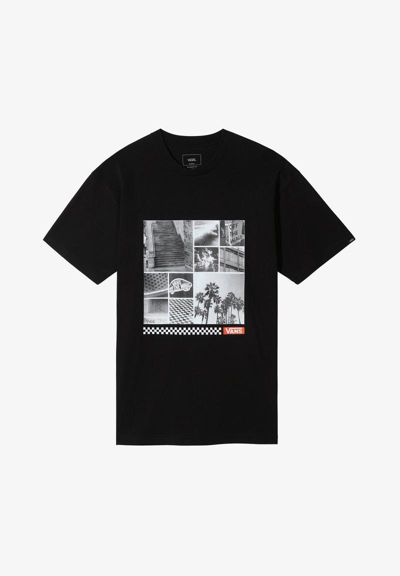 Vans T-Shirt print - white/weiß hewWKN