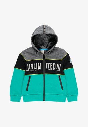 Sweater met rits - multi-coloured